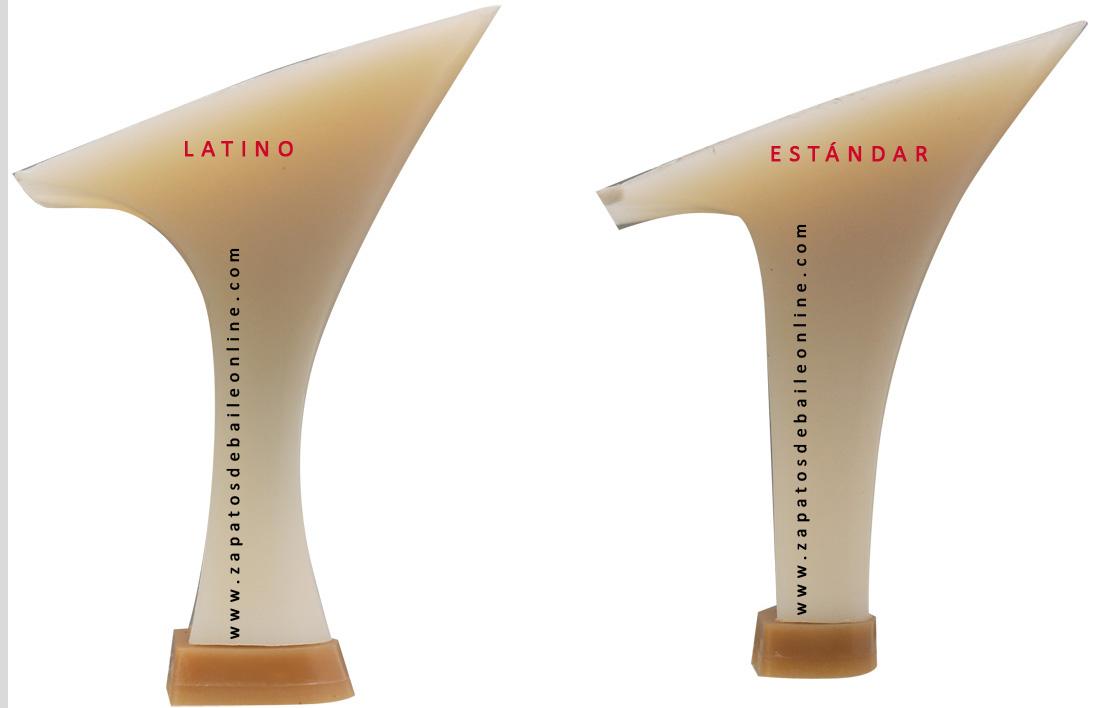 Tacones de zapatos de baile latino y standard Guils ADS Spain